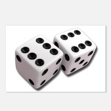 Lucky Dice Postcards (Package of 8)