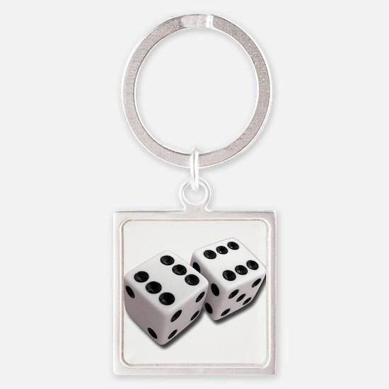 Lucky Dice Keychains