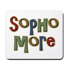 Sophomore Second Year School Mousepad