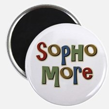 "Sophomore Second Year School 2.25"" Magnet (10 pack"