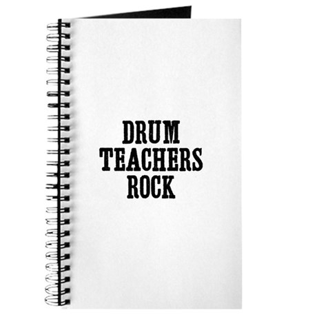 drum teachers rock Journal
