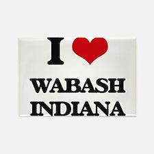 I love Wabash Indiana Magnets