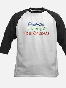 Ice Cream Kids Baseball Jersey