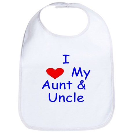I Love My Aunt Amp Uncle Bib By Allbabynkids