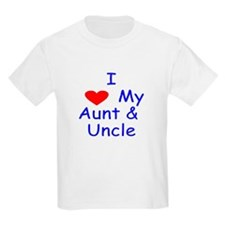 I love my aunt & uncle T-Shirt