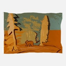 Bear in the woods Pillow Case
