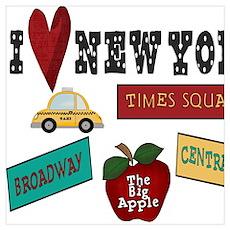 I Love New York Poster
