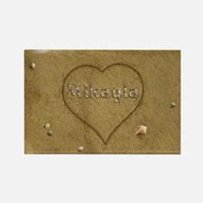 Mikayla Beach Love Rectangle Magnet
