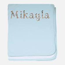 Mikayla Seashells baby blanket