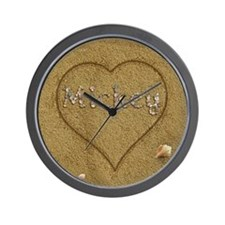 Mickey Beach Love Wall Clock