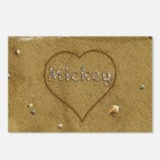 Mickey Beach Love Postcards (Package of 8)