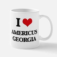 I love Americus Georgia Mugs