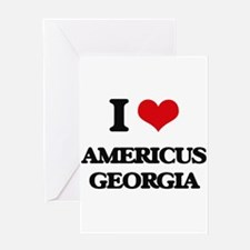 I love Americus Georgia Greeting Cards