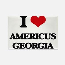 I love Americus Georgia Magnets