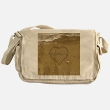 Michaela Beach Love Messenger Bag
