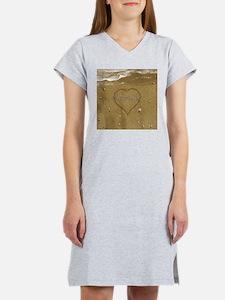 Michaela Beach Love Women's Nightshirt