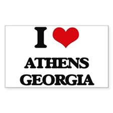 I love Athens Georgia Decal