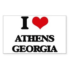 I love Athens Georgia Decal