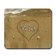 Mia Beach Love Mousepad