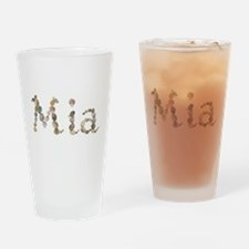 Mia Seashells Drinking Glass
