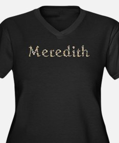Meredith Seashells Plus Size T-Shirt
