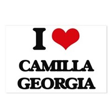 I love Camilla Georgia Postcards (Package of 8)