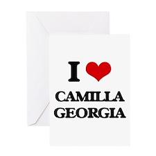 I love Camilla Georgia Greeting Cards