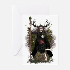 Hedge Witch ~ Hetty Greeting Cards