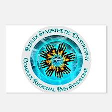 CRPS RSD Awareness Blazin Postcards (Package of 8)