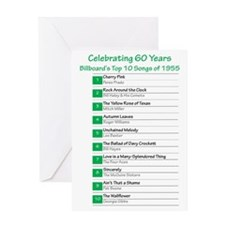 Top Hits 1955 Greeting Cards