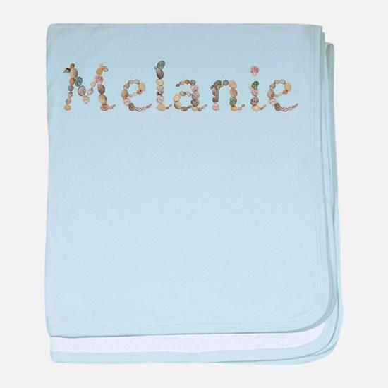 Melanie Seashells baby blanket