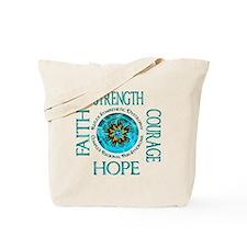 CRPS RSD Faith Courage Strength Hope Blaz Tote Bag