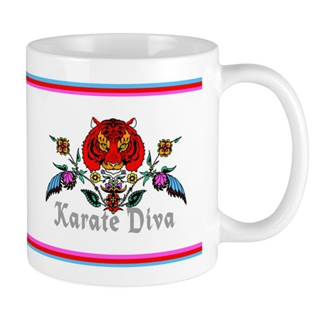 Karate Diva Mug