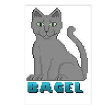 Bagel Postcards (Package of 8)