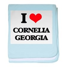 I love Cornelia Georgia baby blanket