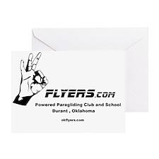 Okflyers Logo Greeting Card