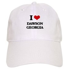 I love Dawson Georgia Baseball Cap