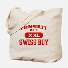Property of a Swiss Boy Tote Bag