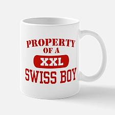 Property of a Swiss Boy Mug
