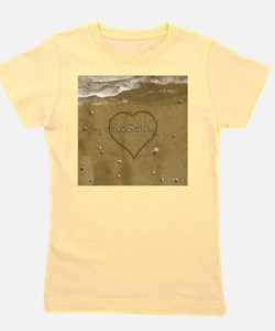 Mcguire Beach Love Girl's Tee