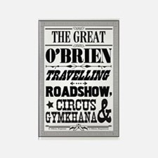 The Great O'Brien Travelling Road Rectangle Magnet