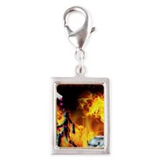 CRPS RSD This is how it Feel Silver Portrait Charm