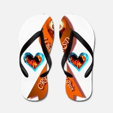 I Choose Hope Over Pain CRPS RSD Awaren Flip Flops