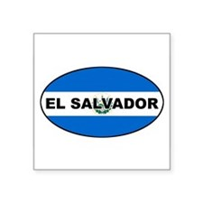 "Unique Hispanic Square Sticker 3"" x 3"""
