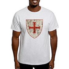 Templar Cross, Shield T-Shirt