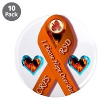"""I Choose Hope Over Pain CRPS 3.5"""" Button (10 pack)"""