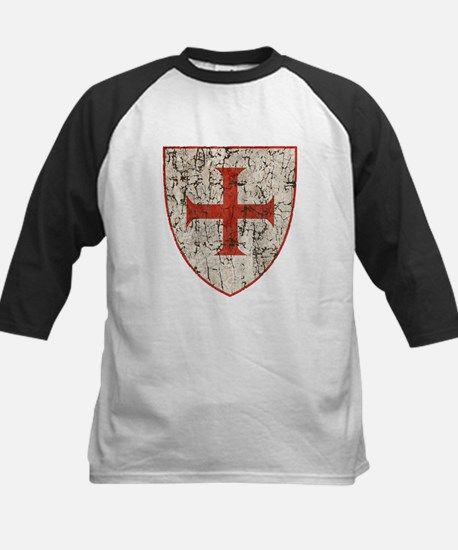 Templar Cross, Shield Baseball Jersey