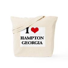 I love Hampton Georgia Tote Bag