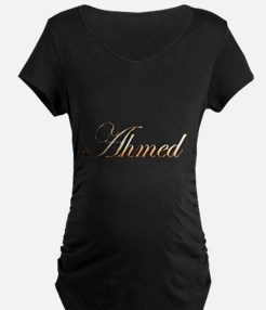 Gold Ahmed Maternity T-Shirt