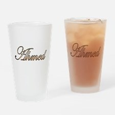 Gold Ahmed Drinking Glass